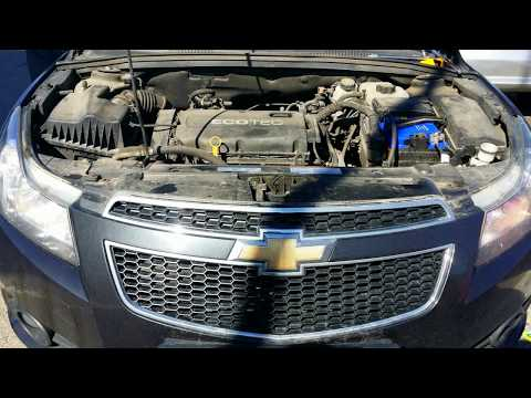 Замена аккумулятора Chevrolet Cruze