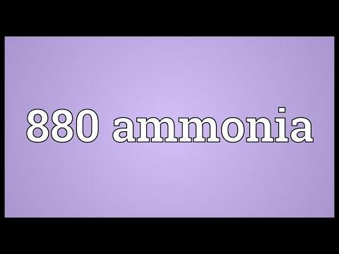 Header of 880 Ammonia