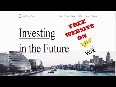Wix website Tutorial - Create a Free Website with Wix full Tutorials [Make a free Business website]