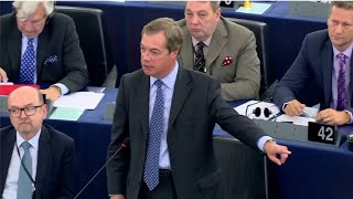 "Nigel Farage ""Thank god we"