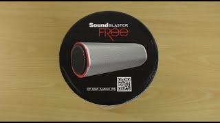 Creative Sound Blaster Free Bluetooth Speaker - Review
