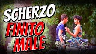 Il Ladro di Biciclette - SCHERZO FINITO MALE - [Micro Candid Camera] - Divergents
