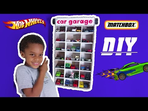 diy-hot-wheels-matchbox-toy-car-garage-|-the-building-club