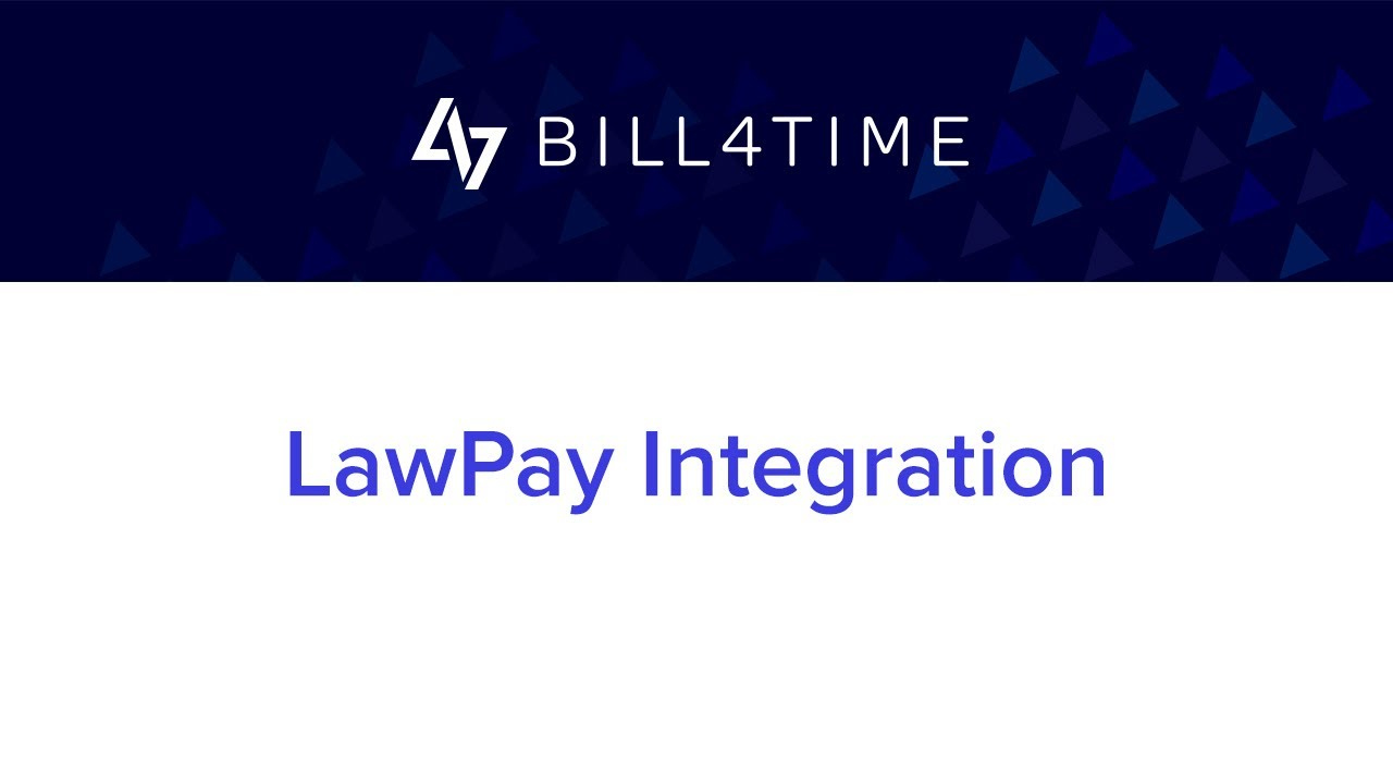 LawPay Integration | Bill4Time - Client Portal