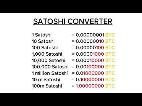 Сколько Сатоши В 1 Биткоин Калькулятор