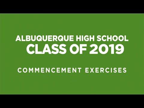 Albuquerque High School Graduation - 2019