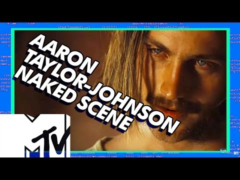 Aaron Taylor Johnson Naked In Nocturnal Animals - BEHIND THE SCENES   MTV