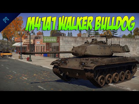 This Is A Special Tonka - The M41A1 Walker Bulldog War Thunder Gameplay