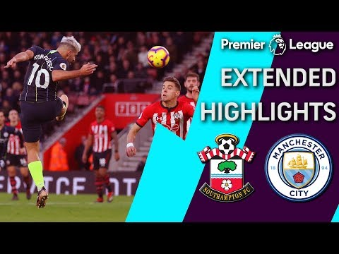 Southampton v. Man City | PREMIER LEAGUE EXTENDED HIGHLIGHTS | 12/30/18 | NBC Sports