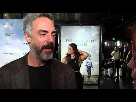 Titus Welliver 'Promised Land' Premiere Interview
