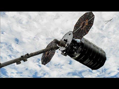 شاهد: وصول مركبة شحن فضائية إلى محطة الفضاء الدولية  - 14:54-2018 / 11 / 19