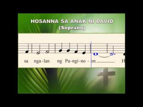 M13a Hosanna sa Anak ni David - Song for Palm Sunday (Soprano)