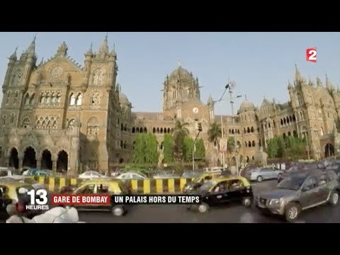 Le monde de gare en gare : Victoria Station à Bombay