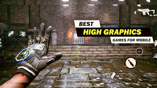 Top 10 Best High Graphics Games For Android & iOS! [Offline/Online]
