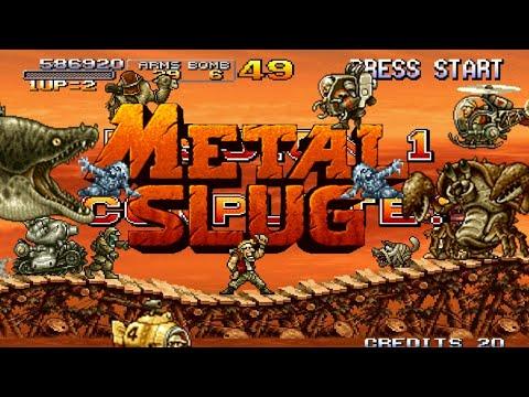 El Inicio De La Saga Metal Slug