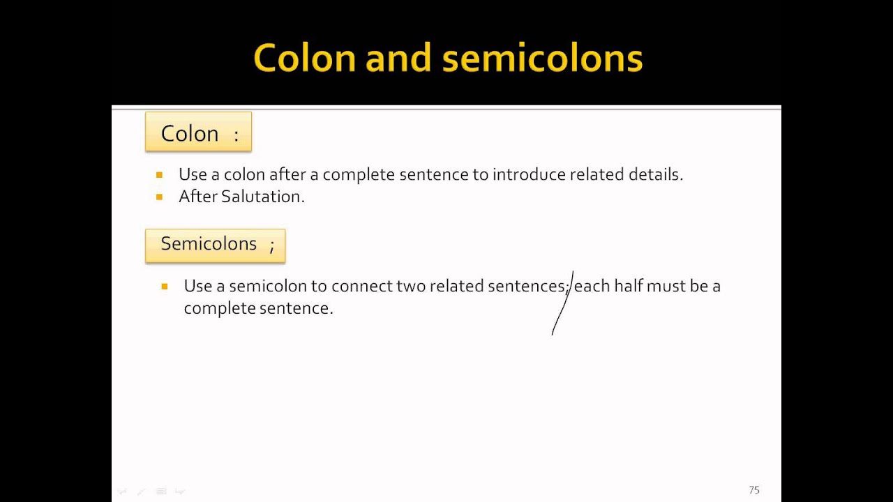 semicolons and colons worksheet
