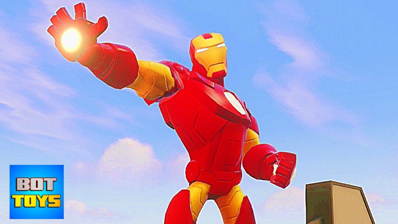 Iron Man Dibujos Animados En Español Caricaturas Para Niños