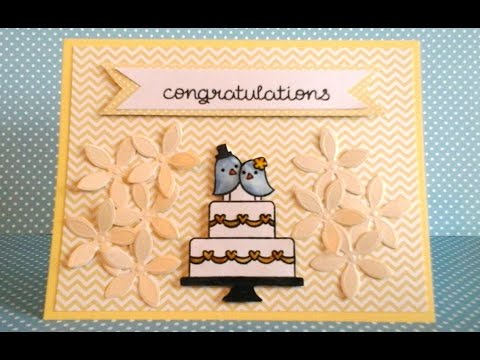 Diy Handmade Wedding Card Youtube