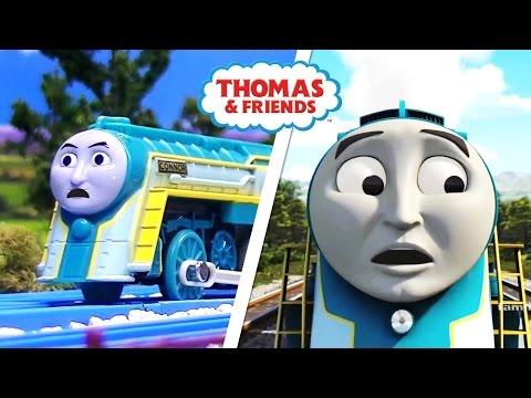 Cautious Connor  Connor has an accident! Thomas & Friends Season 20  Remake Comparison