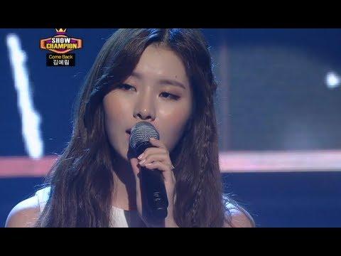 Lim Kim - Rain, 김예림 - 레인, Show Champion 20130911