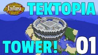 TekTopia S4: Episode 1 - TEKTOPIA TOWER!