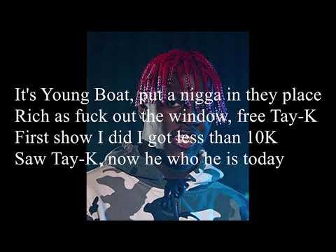 Lil Yachty  The Race Free TayK Freestyle Lyrics
