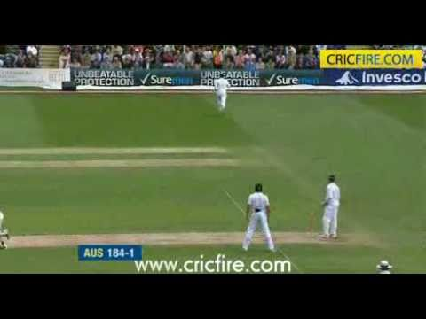 Simon Katich 104* and Ricky Ponting 100*, 1st Test, Day 2, Ashes 2009