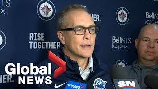 Winnipeg Jets Head Coach Paul Maurice talks Dustin Byfuglien leave of absence | FULL