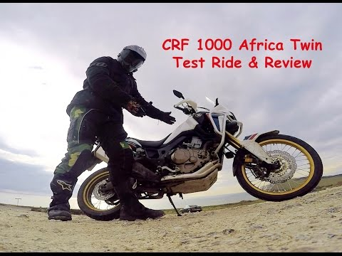 Africa Twin CRF1000L Test Ride and Review