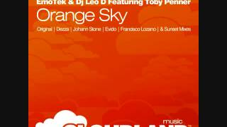 EmoTek & Dj Leo D Feat. Toby Penner - Orange Sky (Dezza Remix)