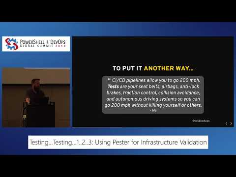 Testing, Testing, 1...2...3: Using Pester For Infrastructure Validation By Brandon Olin