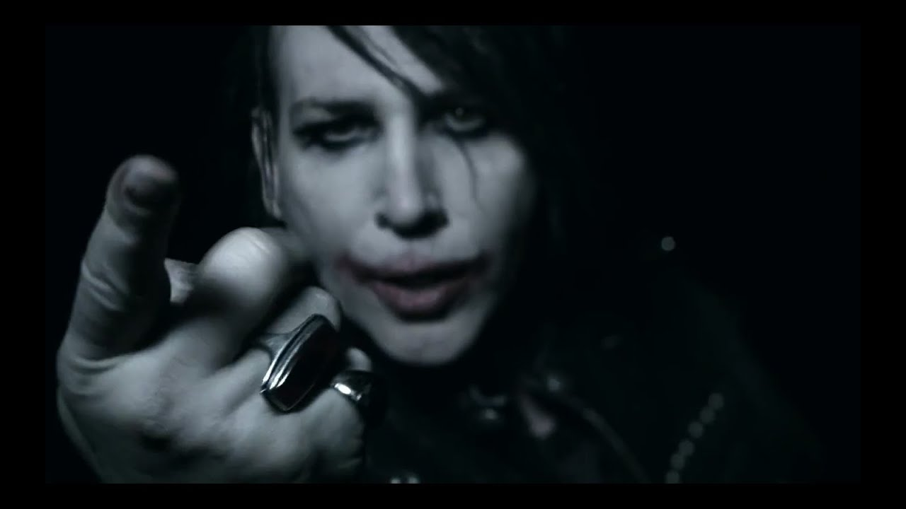 Marilyn Manson No Reflection Official Video Youtube