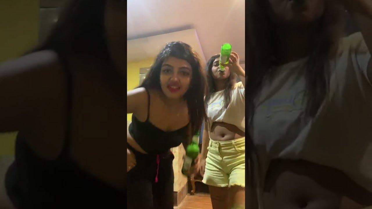 Download INDIAN GIRLS NIGHT LIFE SMOKING AND DRINKING NAUGHTY FUN
