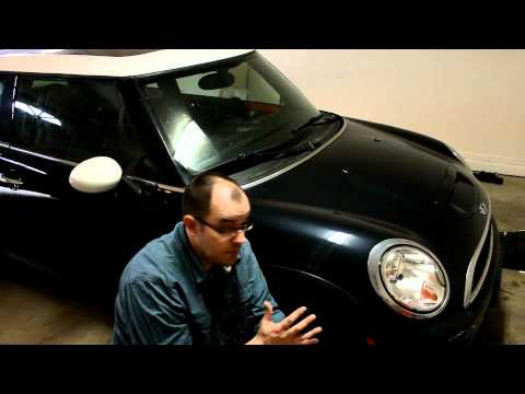 Gapping Or Streamlining The Mini Cooper To Reduce Drag And Road Noise