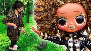 Я ЗНАЙШЛА В ЛІСІ ЛЯЛЬКУ OMG ROYAL BEE! Розпакування нової сестри для Queen Bee в лісі