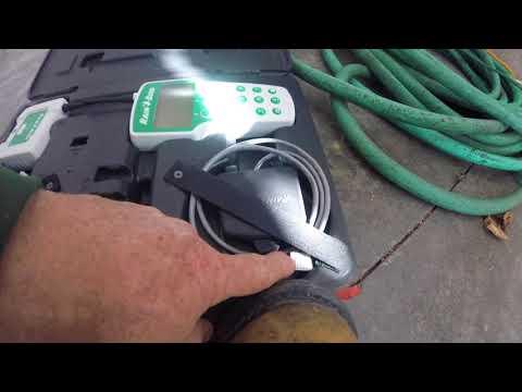 Residential Irrigation Using A RainBird Remote