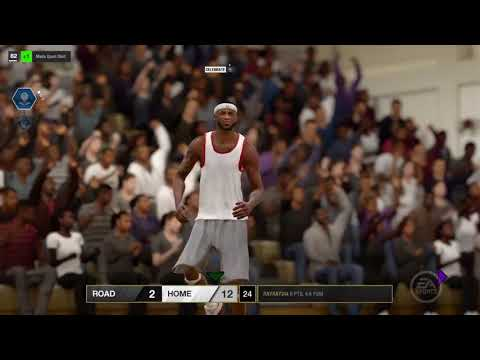 NBA LIVE 18 PLAYING WITH FRIENDS GAMEPLAY [HD]