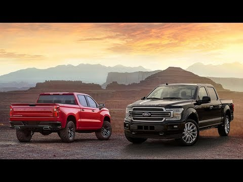 Ford F- Limited vs  Chevrolet Silverado  Technical Specifications