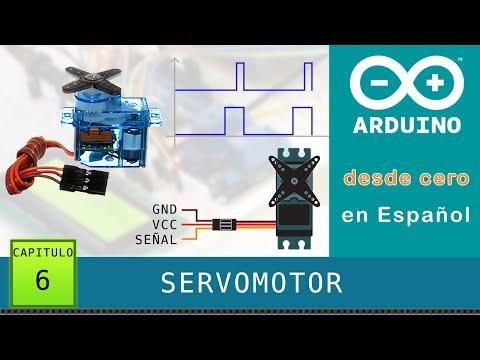 Arduino Desde Cero En Español - Capítulo 6 - Servomotor