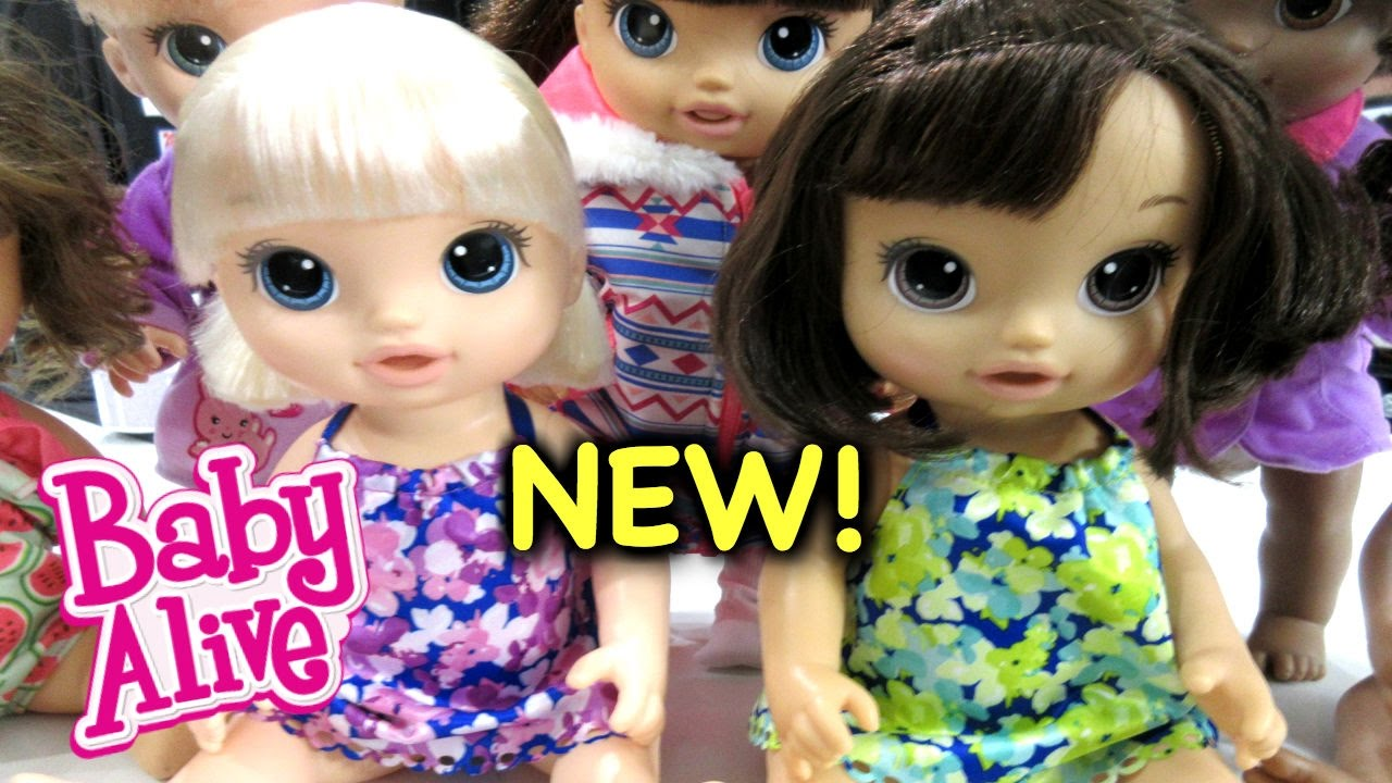 Baby Alive New Babies Magical Scoops Baby Alive Youtube