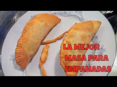 La mejor masa para empanadas fritas del mundo