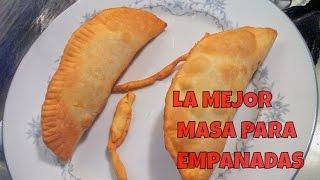 Receta De Masa Para Empanada Frita Recetas De Cocina Youtube