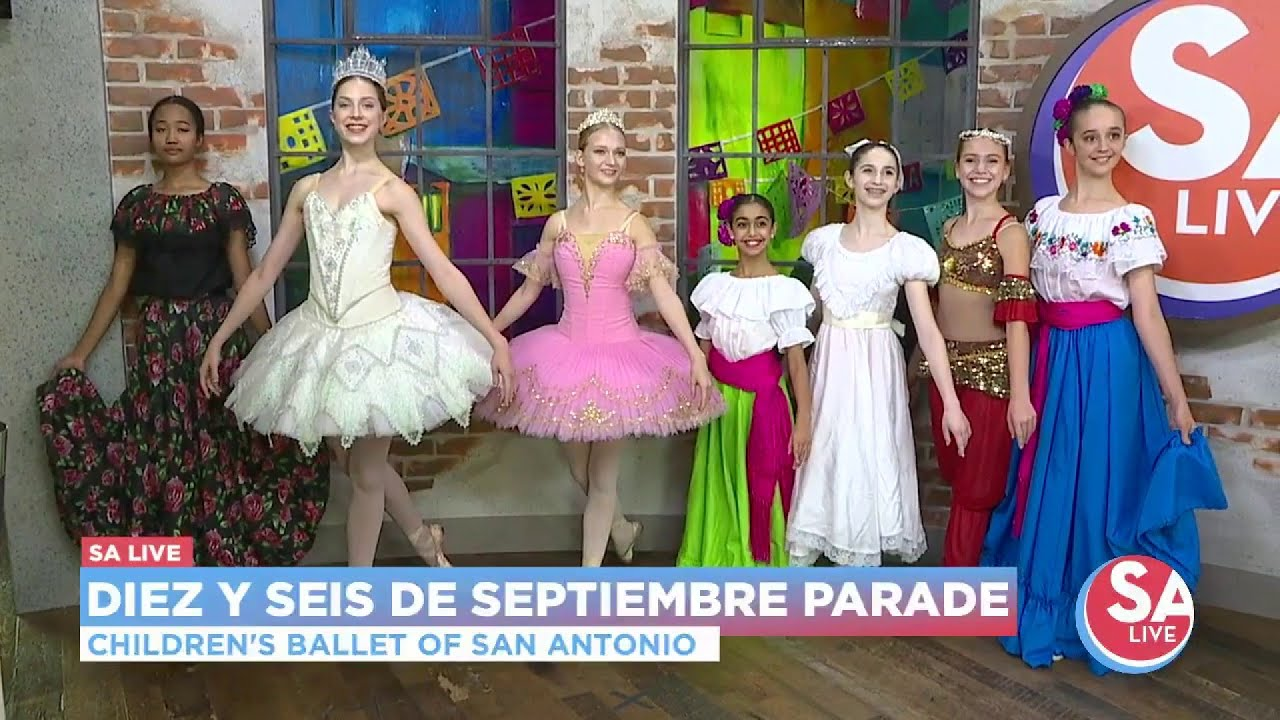 Celebrate Mexican Independence Day with river parade + dancers l SA Live l  KSAT 12
