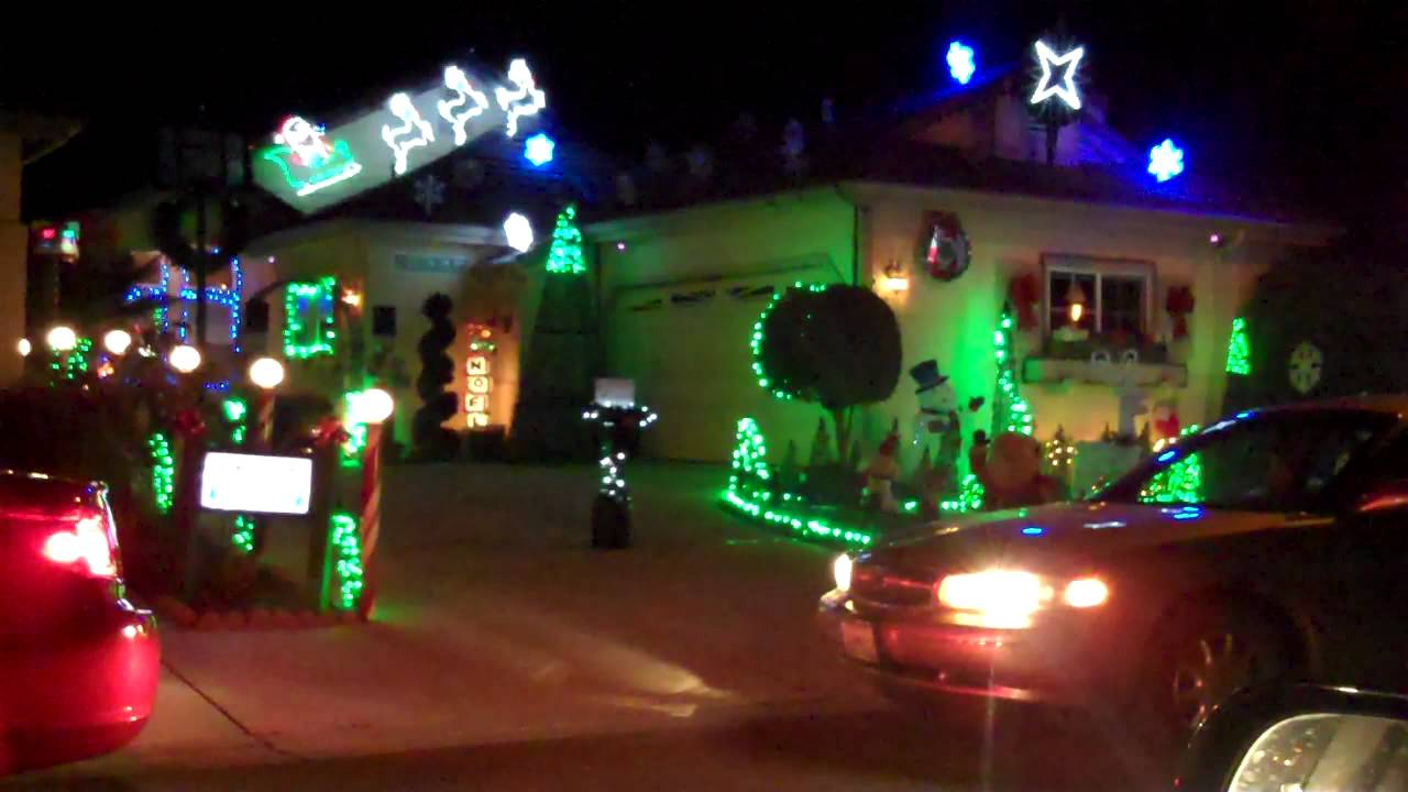 Christmas Lights (Light Show) on the Central Coast - 2011 Arroyo ...