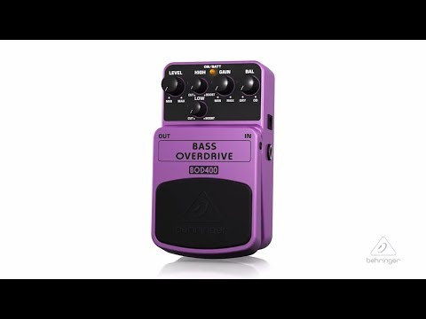BOD400 | Bass Overdrive Pedal
