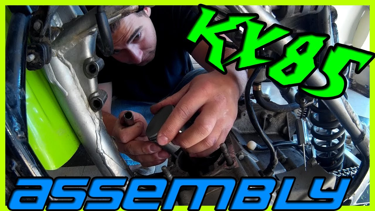 kx85 build assembly [ 1280 x 720 Pixel ]