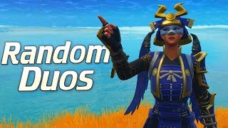 Random Duos Teammate is in Charge! (Fortnite Battle Royale)