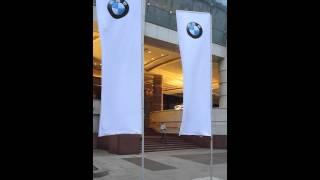 Флаг БМВ 4-х метровый двусторонний(Флаг БМВ установлен на флагштоке 5,5 метров. Размер флага 4метра на 1,2 метра, двусторонний, напечатан на сетке...., 2012-07-04T09:23:44.000Z)
