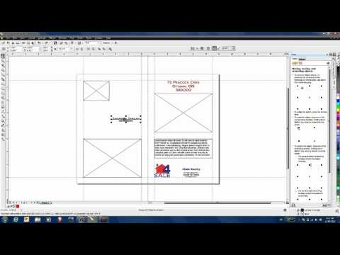 Creating a brochure in coreldraw graphics suite x4 doovi for Coreldraw brochure templates
