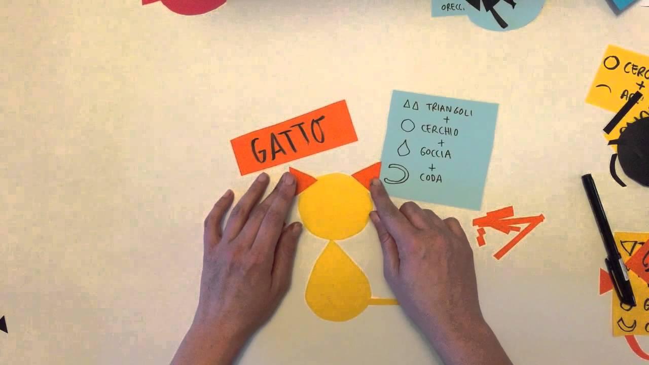 Disegnare animali con la geometria youtube for Immagini giraffa per bambini